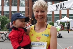 Anna Rahm Bagisloppet 2016 vinnare dam 10 km. Foto Bagisloppet