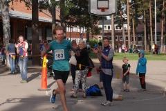 Otto Kingstedt vinner Bagisloppet 2016 herr 10km. Foto Bagisloppet